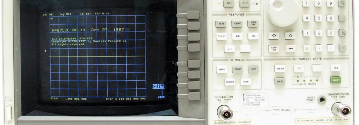 HP 8752C